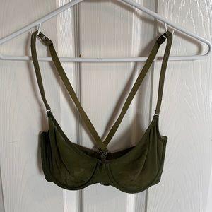 Cosabella Soire new molded bra in olive mesh 36C